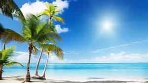 Sunny Beach Wallpaper - WallpaperSafari