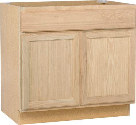 36 inch kitchen sink base cabinet unbranded unfinished oak 36 inch sink base the home