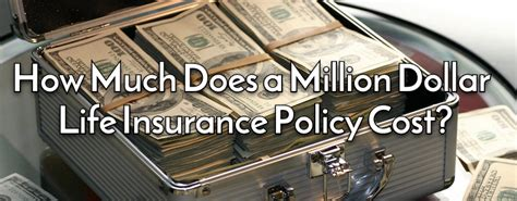 How much does insurance usually pay off if your car is deemed totaled? How Much Does a Million Dollar Life Insurance Policy Cost? - Life Ant