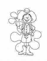 Coloring Cowgirl Funny Draw Sheets Characters Playing Play sketch template