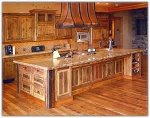 rustic kitchen design ideas alder wood cabinets kitchen home design ideas