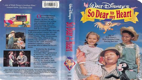 Opening And Closing To So Dear To My Heart 1992 Vhs Youtube