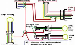 Yamaha Mio Sporty Electrical Wiring Diagram