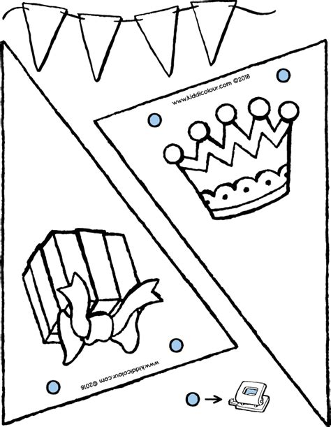 Feestneus Kleurplaat by Feesten Colouring Pages Kiddi Kleurprentjes