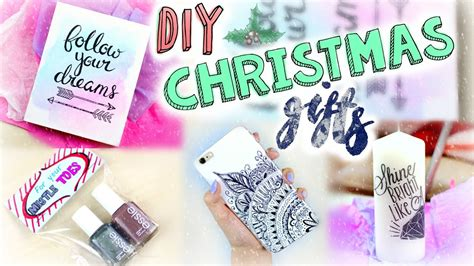 diy easy christmas gifts  minute presents