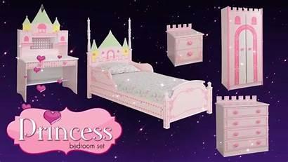 Princess Castle Bedroom Bed Furniture Theme Children