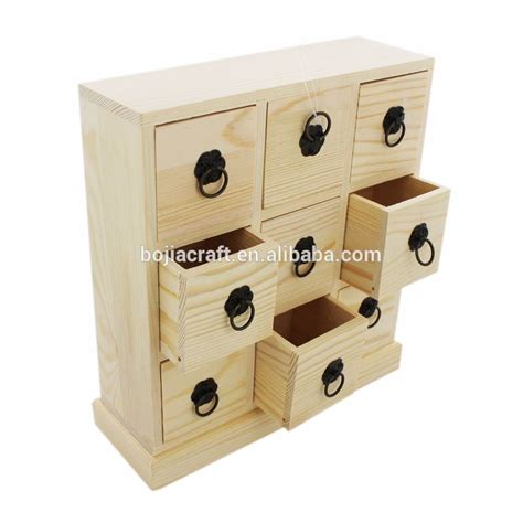 wooden box with drawers small wooden storage box with drawers