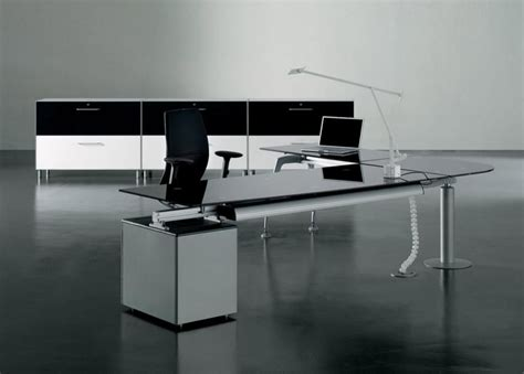 modern bureau modern glass office desk pixshark com images