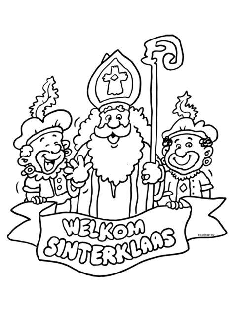 Kleurplaat Silvie En by Kleurplaat Welkom Sinterklaas Sinterklaas En Zijn Pieten