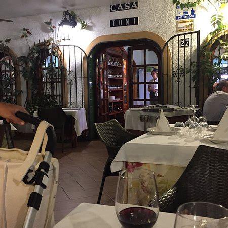 casa toni benidorm restaurante casa toni бенидорм фото ресторана tripadvisor