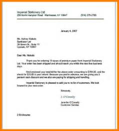 business letter modified block format sle 28 images