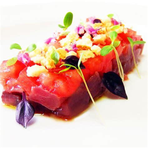cuisine masterchef tartare di tonno fresco fresco pesce
