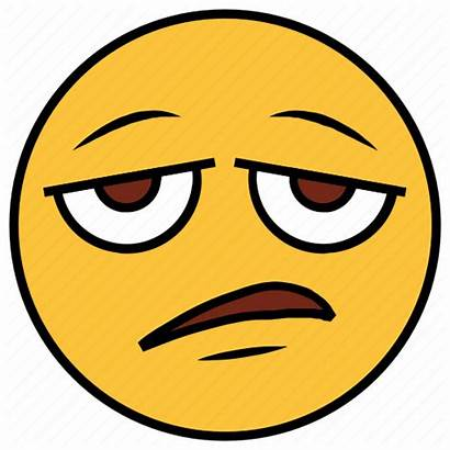 Emoji Bored Tired Cartoon Face Emotion Character