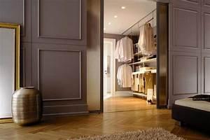 Begehbarer Kleiderschrank Kleines Schlafzimmer : begehbarer kleiderschrank planen schranksysteme und regalsysteme living at home ~ Michelbontemps.com Haus und Dekorationen