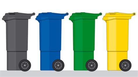 Müll richtig trennen: gelber Sack Restmüll Papier oder