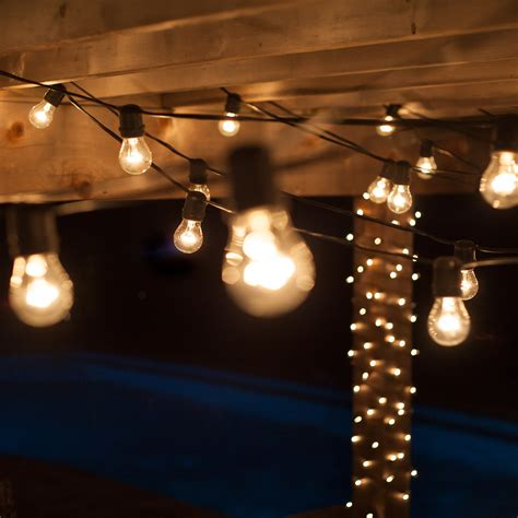 outdoor patio string lights patio lights commercial clear patio string lights 24
