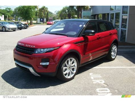 red land rover firenze red metallic 2012 land rover range rover evoque