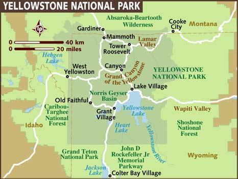 yellowstone national park atozchallenge