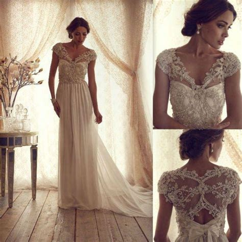 gorgeous anna cbell vintage lace wedding dress 2045662