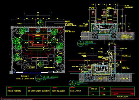 detail jacuzzi dwg detail  autocad designs cad