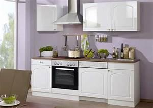 Küche Mit Elektrogeräten : k che mit elektroger ten und sp lmaschine 220 cm ~ Markanthonyermac.com Haus und Dekorationen