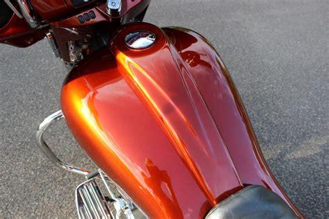 burnt orange street glide camtech custom baggers bike