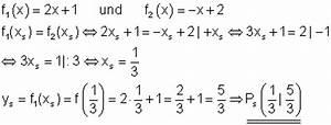 Schnittpunkt Zweier Geraden Berechnen : l sungen grundaufgaben f r lineare und quadratische funktionen i ~ Themetempest.com Abrechnung