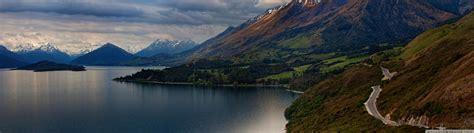 Tapety  Krajina, Hory, Jezero, Příroda, Odraz, Fjord