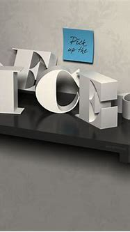3D Letters on a Shelf Text Effect: PSD Drawer Font | Textuts