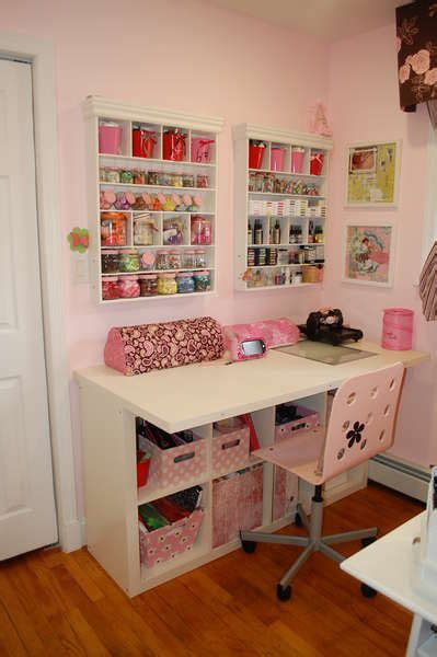 bureau ikea expedit 25 best ideas about craft desk on craft room