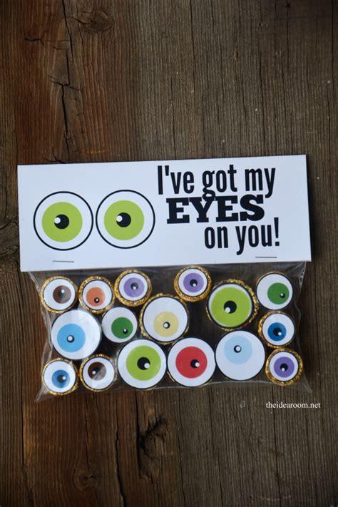 halloween eyeball treats  idea room