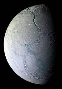NASA - As The Crust Turns: Cassini Data Show Enceladus in ...