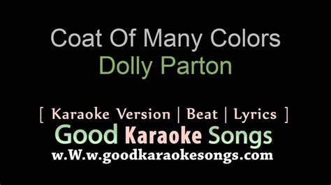 coat of many colors lyrics coat of many colors dolly parton lyrics karaoke