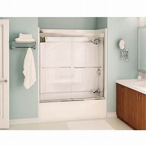 porte pour bain douche aura rona With porte de douche rona