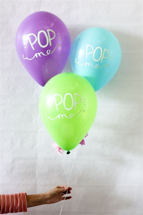 pop of color pop of color invitation birthday balloon time