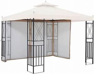Pavillon 3 X 3 : seitenteile f r pavillon royal f r 3x3 m 2 stk mit moskitonetz online kaufen otto ~ Orissabook.com Haus und Dekorationen