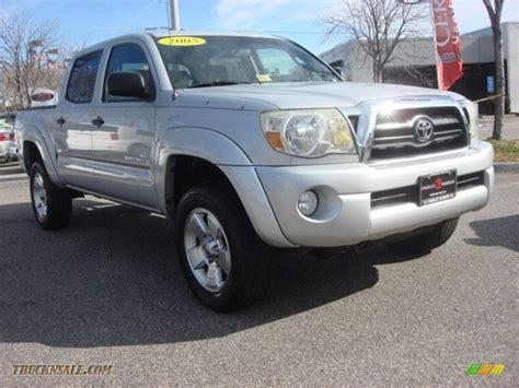 2005 Tacoma Prerunner by 2005 Toyota Tacoma Prerunner Cab In Silver Streak