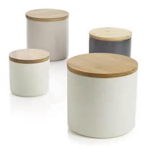 modern kitchen canisters silo canisters crate and barrel