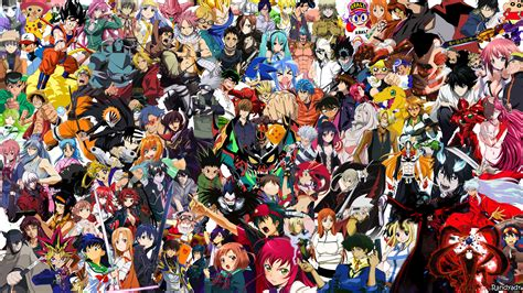 All Anime In One Wallpaper - all anime wallpapers 183