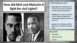 Martin Luther King Jr  Vs  Malcolm X
