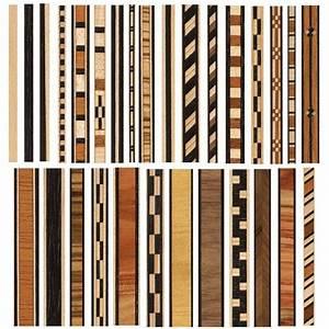wood inlay banding patterns