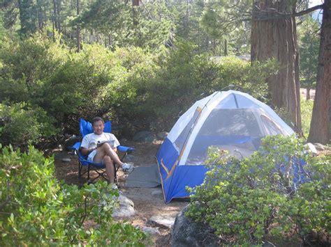 whitekoi camping  lake tahoe emerald bay