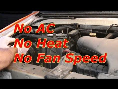 automotive air conditioning repair 1996 ford f250 electronic toll collection how to diagnose no fan speed on a ford e150 e250 e350 f150 f250 and f350 youtube