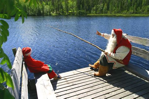 meet     santa claus  rovaniemi finland tours