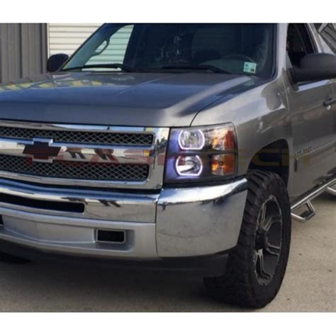 chevrolet silverado  fusion color change halo headlight