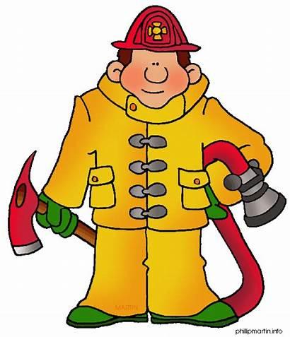 Firefighter Fireman Clip Clipart Occupations Fire Community