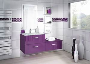 loft cristal prune discac cuisines salles de bains With salle de bain design avec décoration cristal