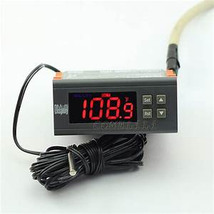 Ac 110v Digital Fahrenheit Thermostat Temperature