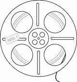 Reel Film Tape Drawing Clipart Coloring Getdrawings Colouringbook Clipartbest Clip Line sketch template