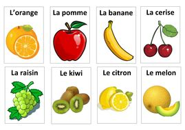 French Food Flashcards With Pictures By Mahaliadixon  Teaching Resources Tes